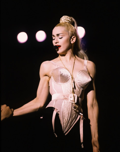 Madonna Madonna Blonde Ambition Tour - Japan - April 20th, 1990 Nishinomiya Stadium Osaka, Japan April 20, 1990 Photo by George Chin/WireImage.com To license this image (7619604), contact WireImage: U.S. +1-212-686-8900 / U.K. +44-207-868-8940 / Australia +61-2-8262-9222 / Germany +49-40-320-05521 / Japan: +81-3-5464-7020 +1 212-686-8901 (fax) info@wireimage.com (e-mail) www.wireimage.com (web site)
